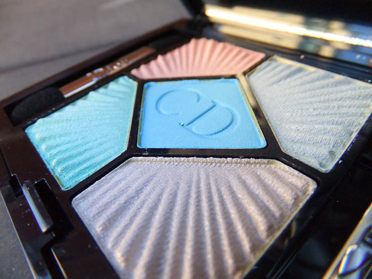 Dior Summer 2012_5 Couleurs Croisette eye palette in Swimming Pool