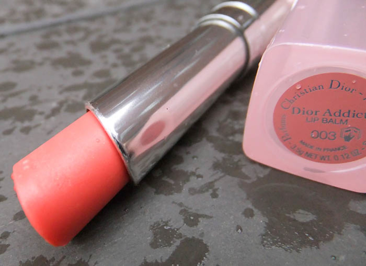 Dior Addict Lipbalm in Crystal Coral