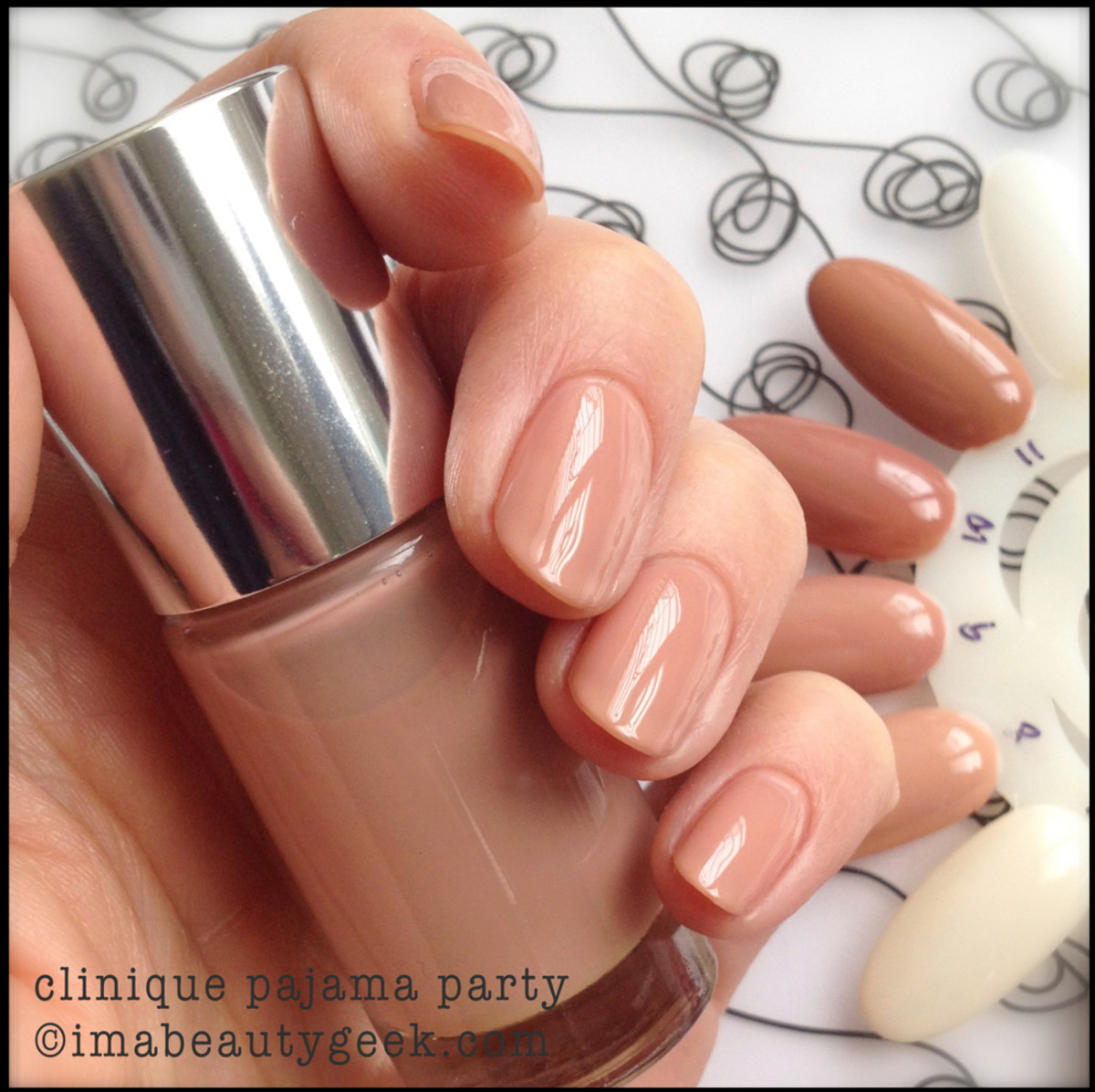 Clinique Nail Polish Nude Pajama Party