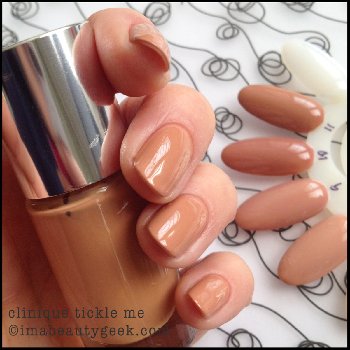 Clinique Nail Polish Nude Tickle Me