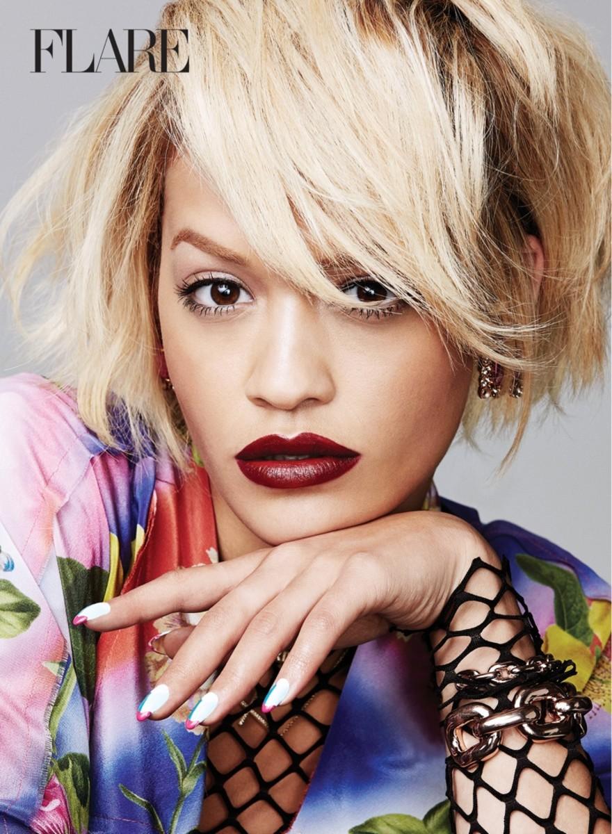 Rimmel London Fall 2014_Rita Ora_Flare Magazine