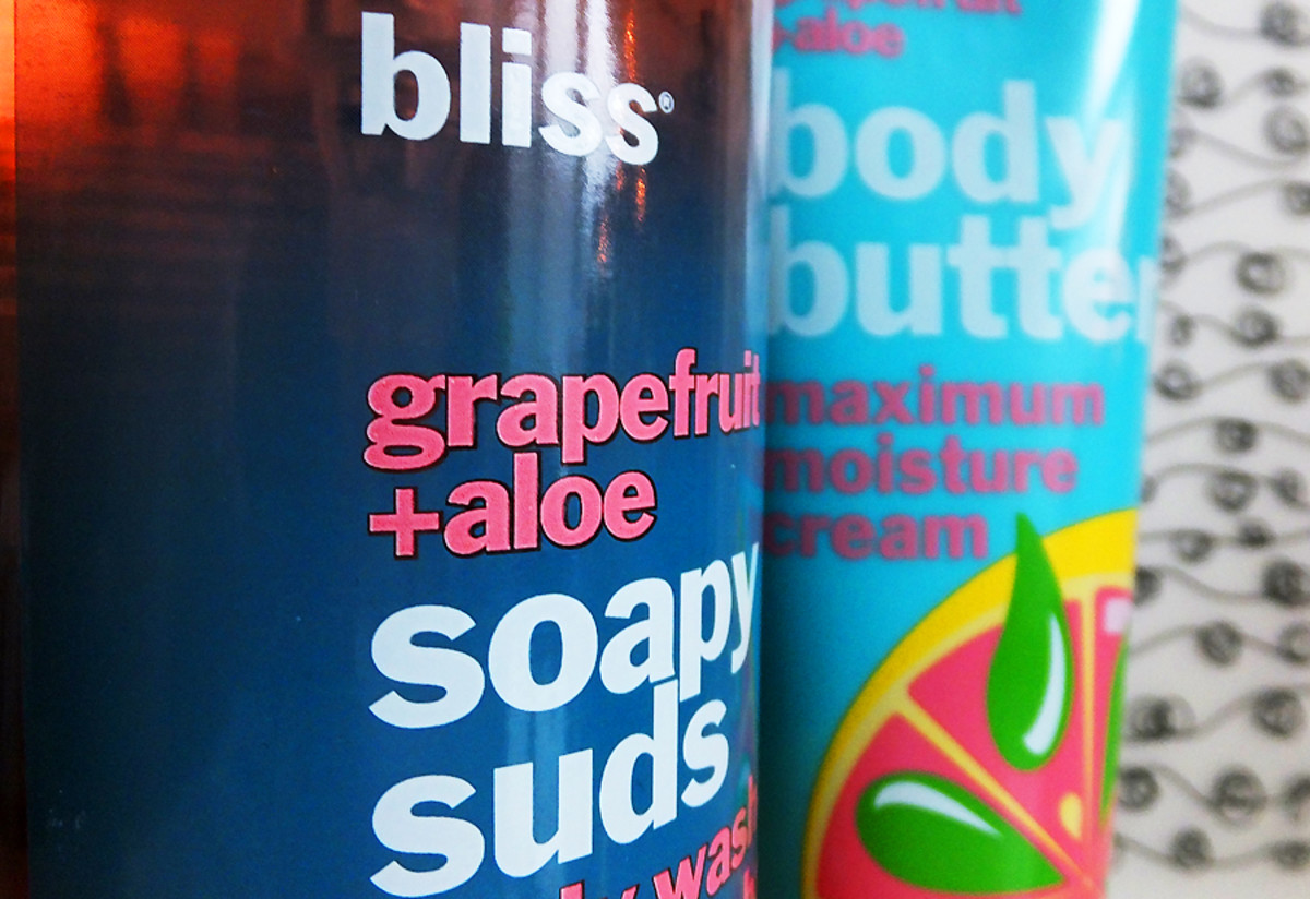 Bliss Grapefreuit + Aloe Soapy Suds body wash