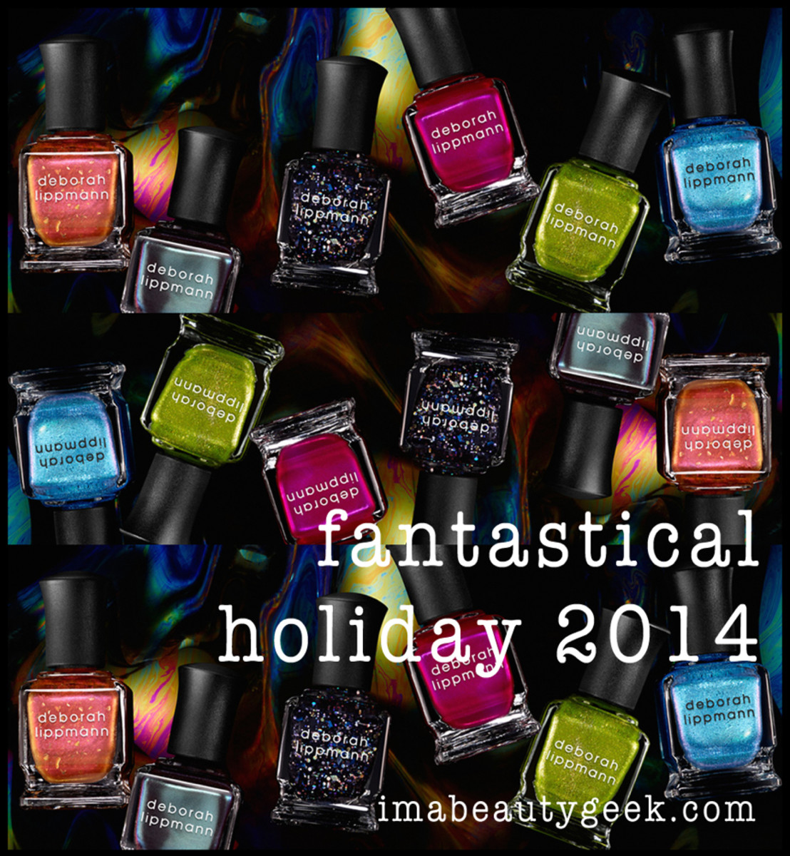 Deborah Lippmann Fantastical Holiday 2014 Header