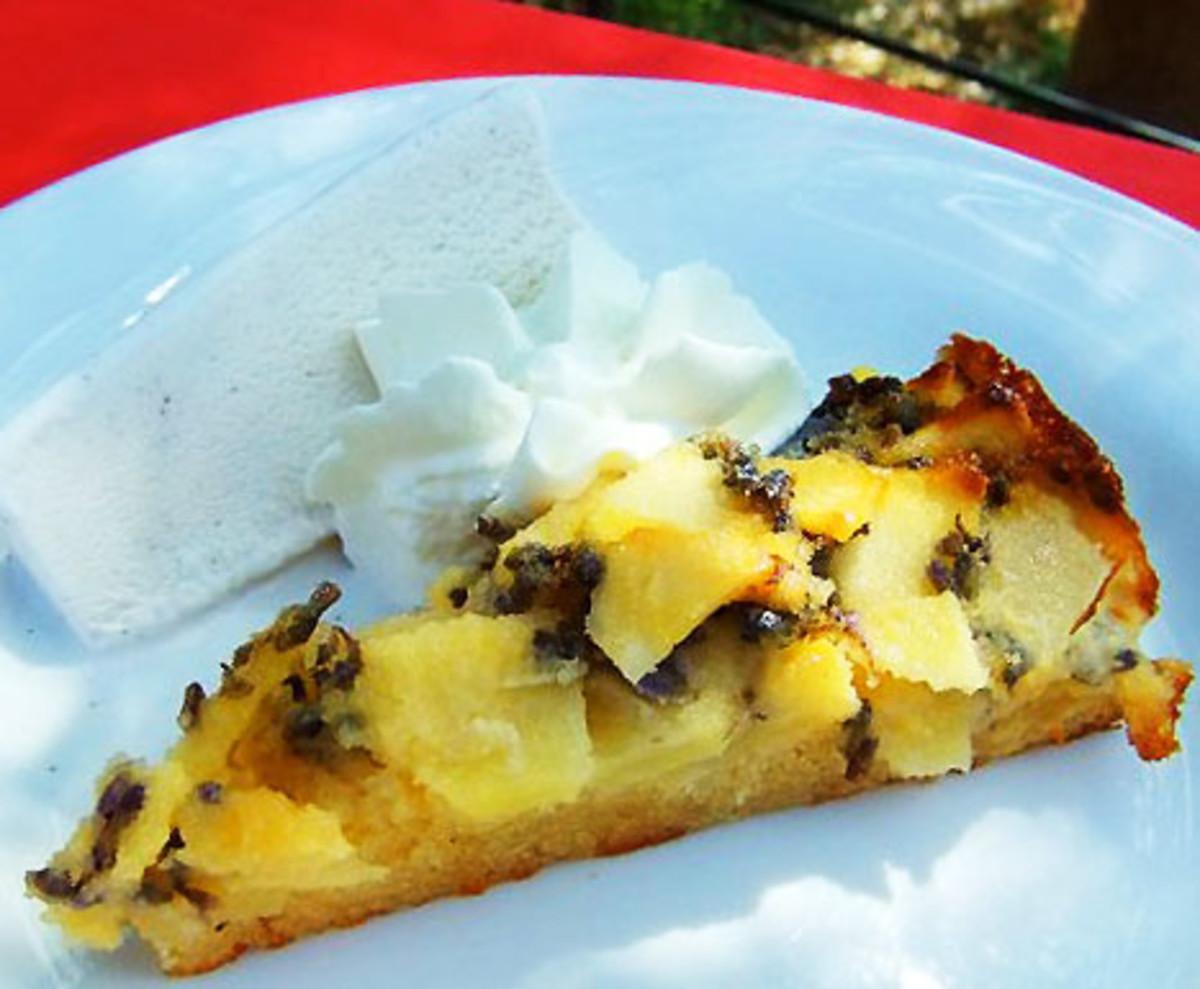 Weleda Organic Lavender Apple Cake_Germany
