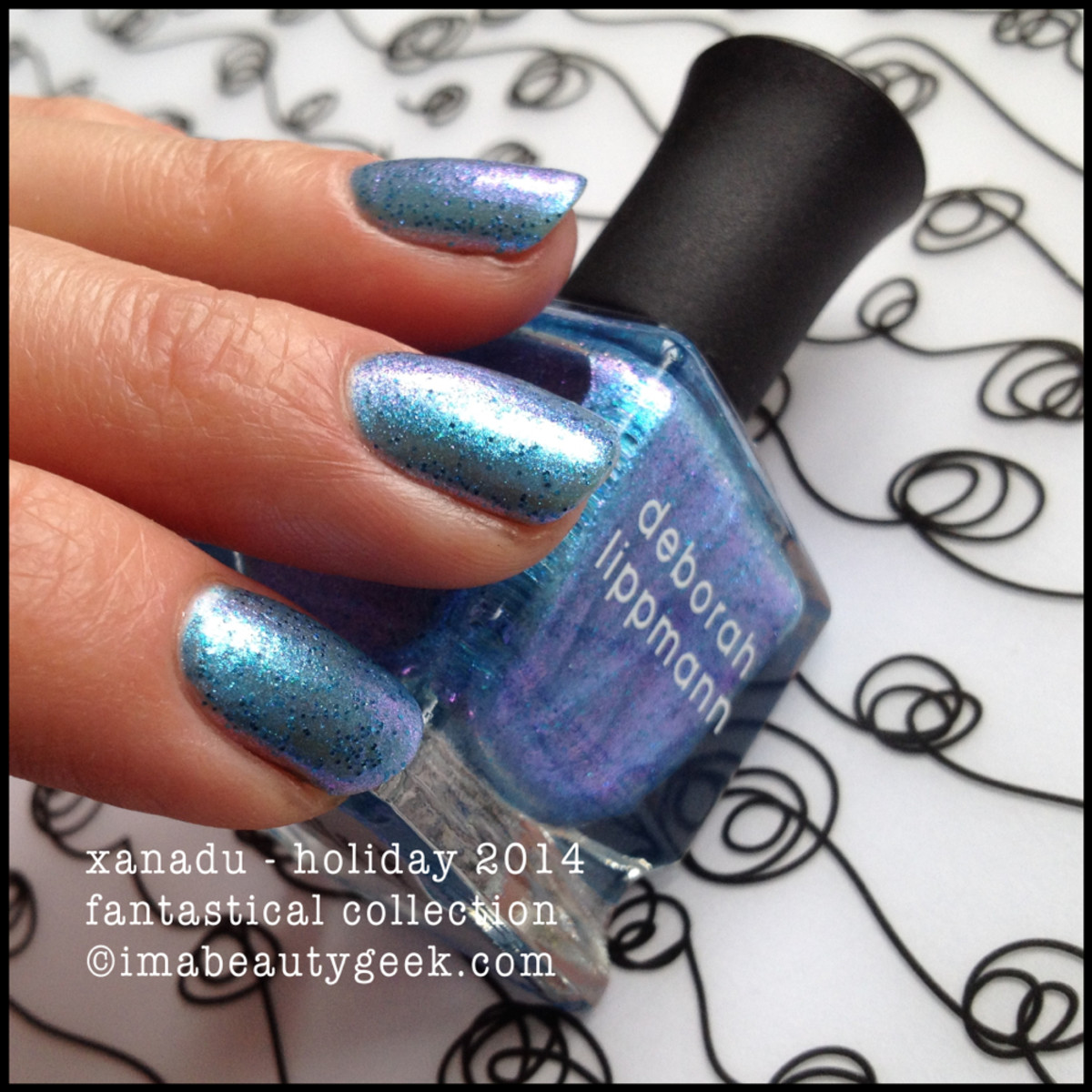Deborah Lippmann Fantastical Xanadu Holiday 2014