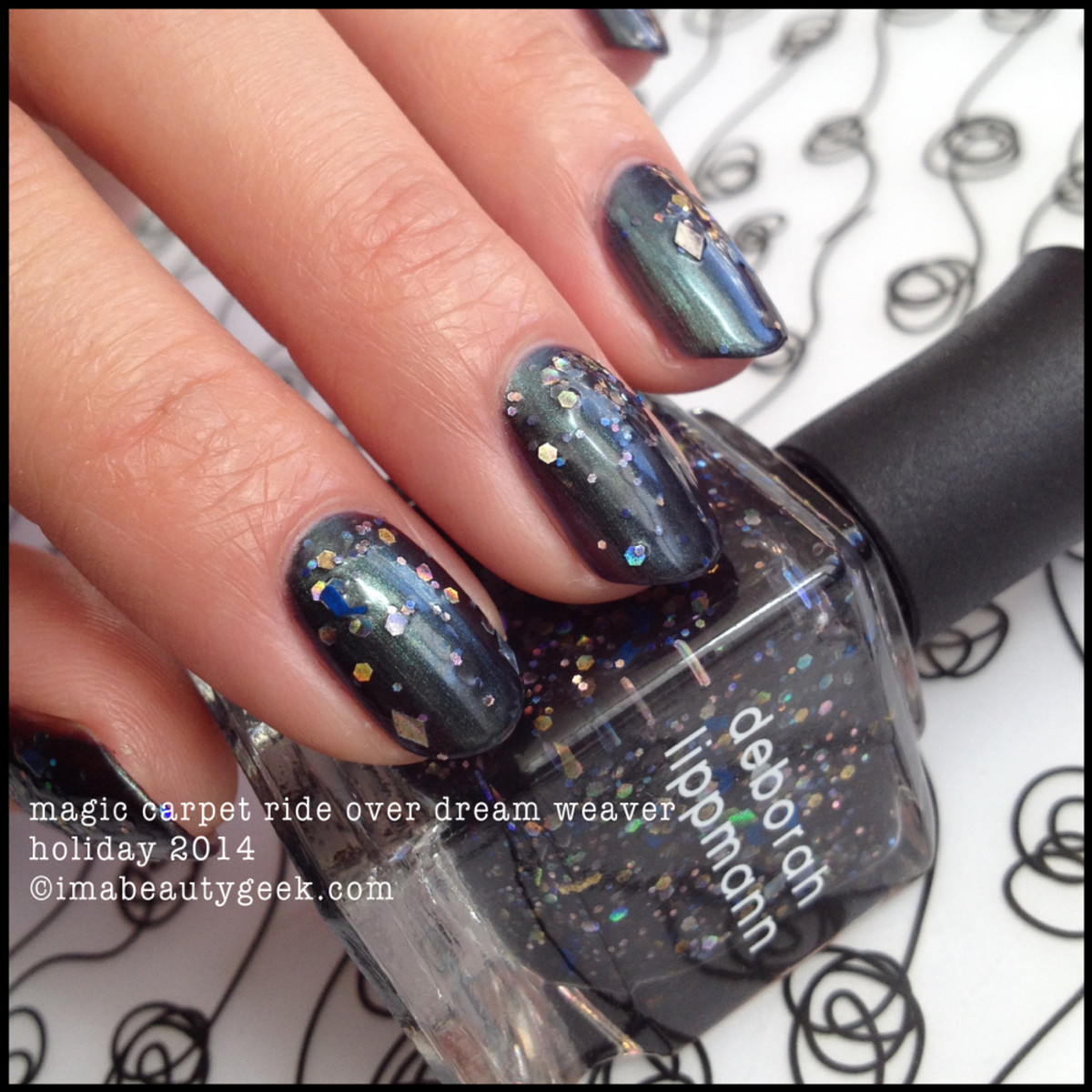 Deborah Lippmann Fantastical Magic Carpet Ride over Dream Weaver Holiday 2014