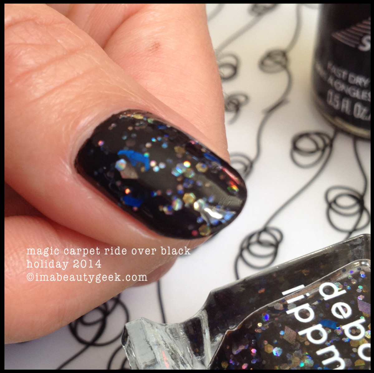 Deborah Lippmann Fantastical Holiday 2014 Magic Carpet Ride Holo Bits