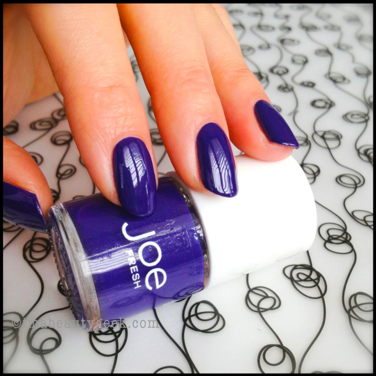 Joe Fresh Nail Polish Ultra Violet
