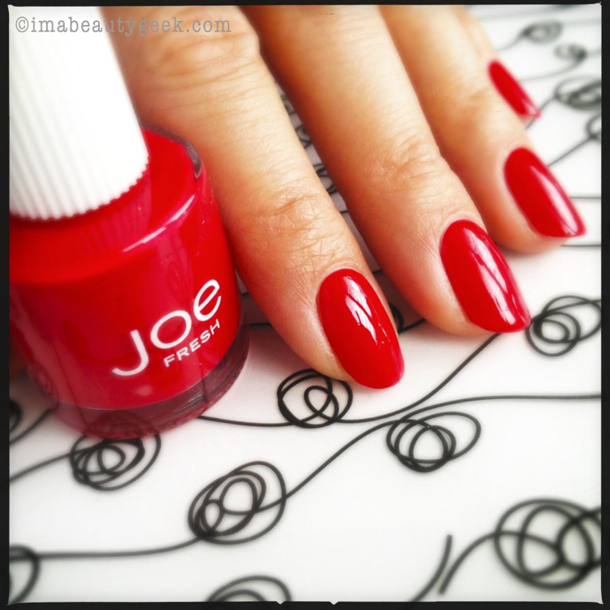 Joe Fresh Nail Polish Rouge