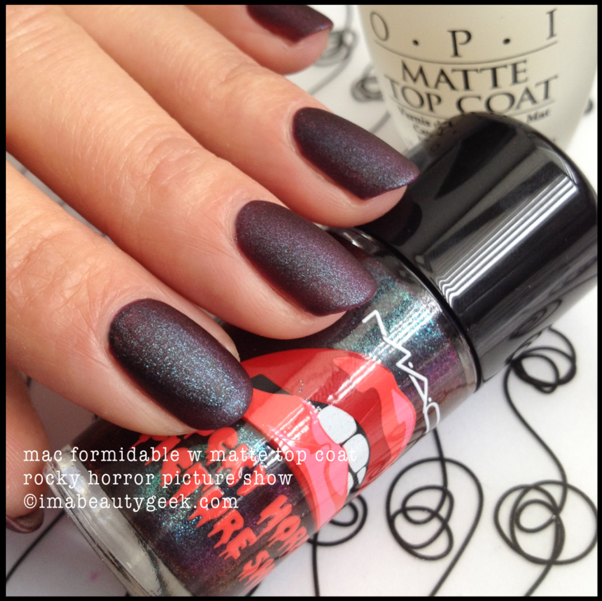 MAC Rocky Horror Picture Show Formidable w Matte Fall 2014