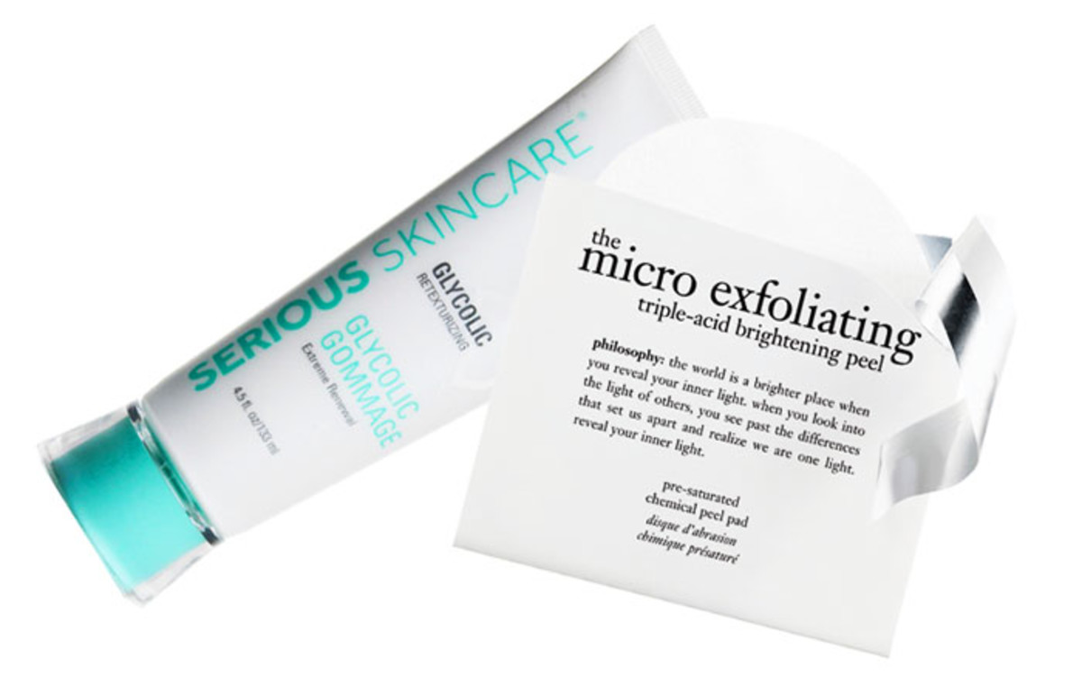 Serious Skincare Glycolic Cleanser_Philosophy The Micro Exfoliating Triple-Acid Brightening Peel Pads