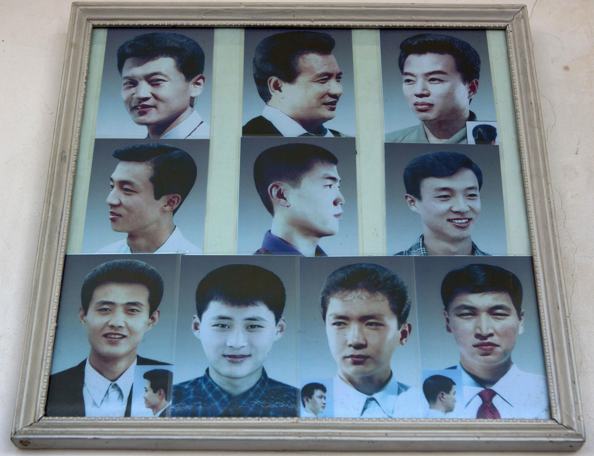 North Korea's state-sanctioned hairstyles_men