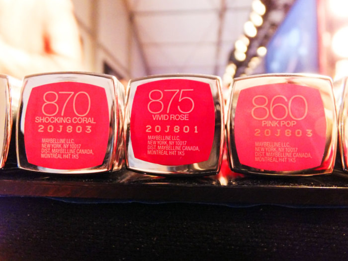 Maybelline Color Sensational Vivids Lip Color_Shocking Coral_Wild Rose_Pink Pop