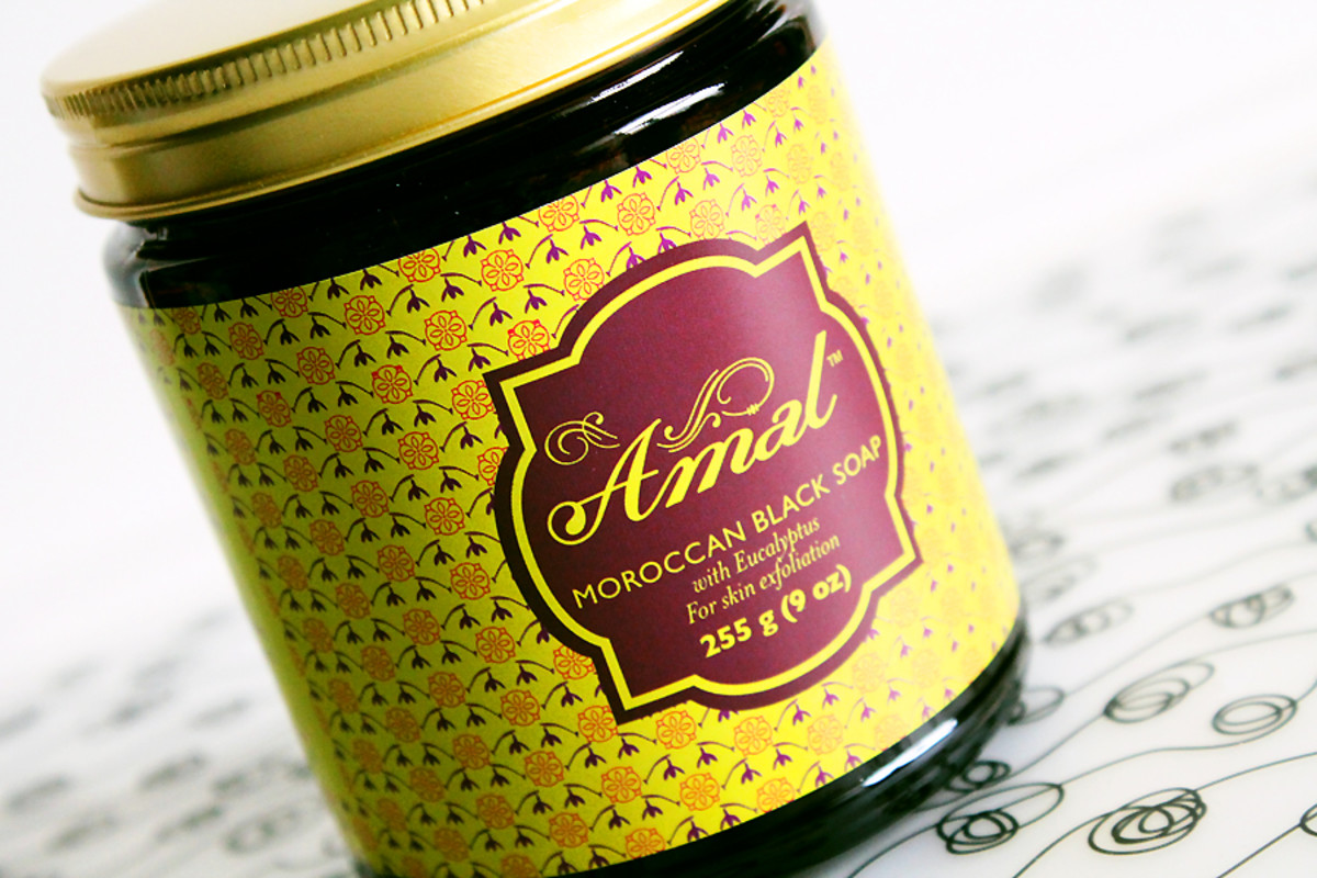 Amal Moroccan Black Soap