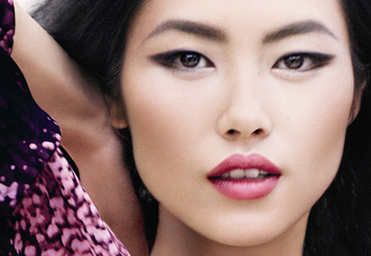 Liu Wen for Lauder Spring