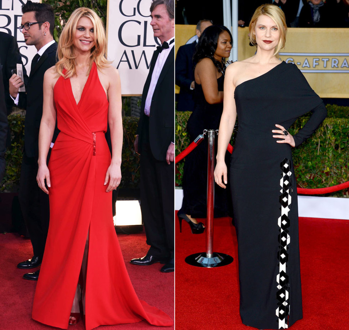 Claire Danes_Golden Globes_SAG Awards_2013
