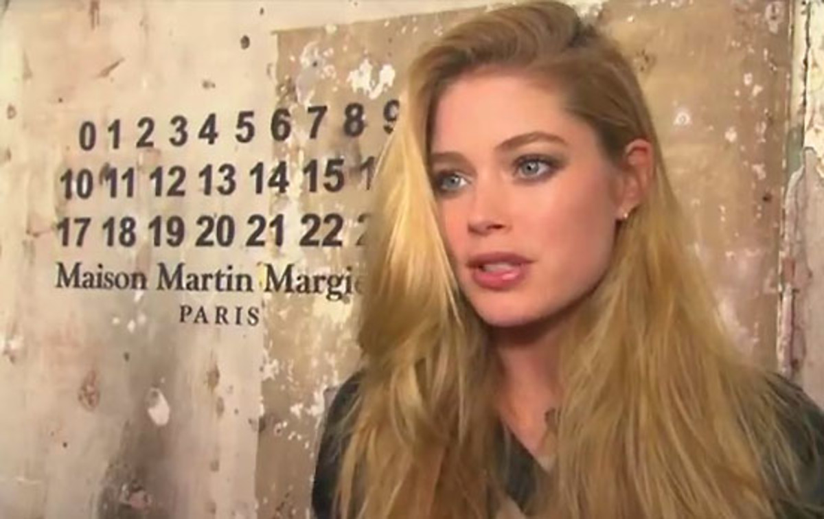 Doutzen Kroes_Maison Martin Margiela for H&M_NYC