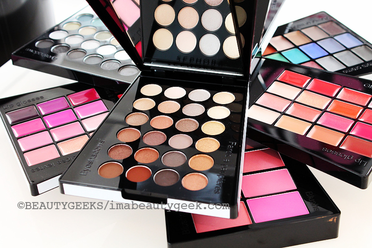 Holiday 2014 makeup palettes_Sephora Festival Blockbuster open