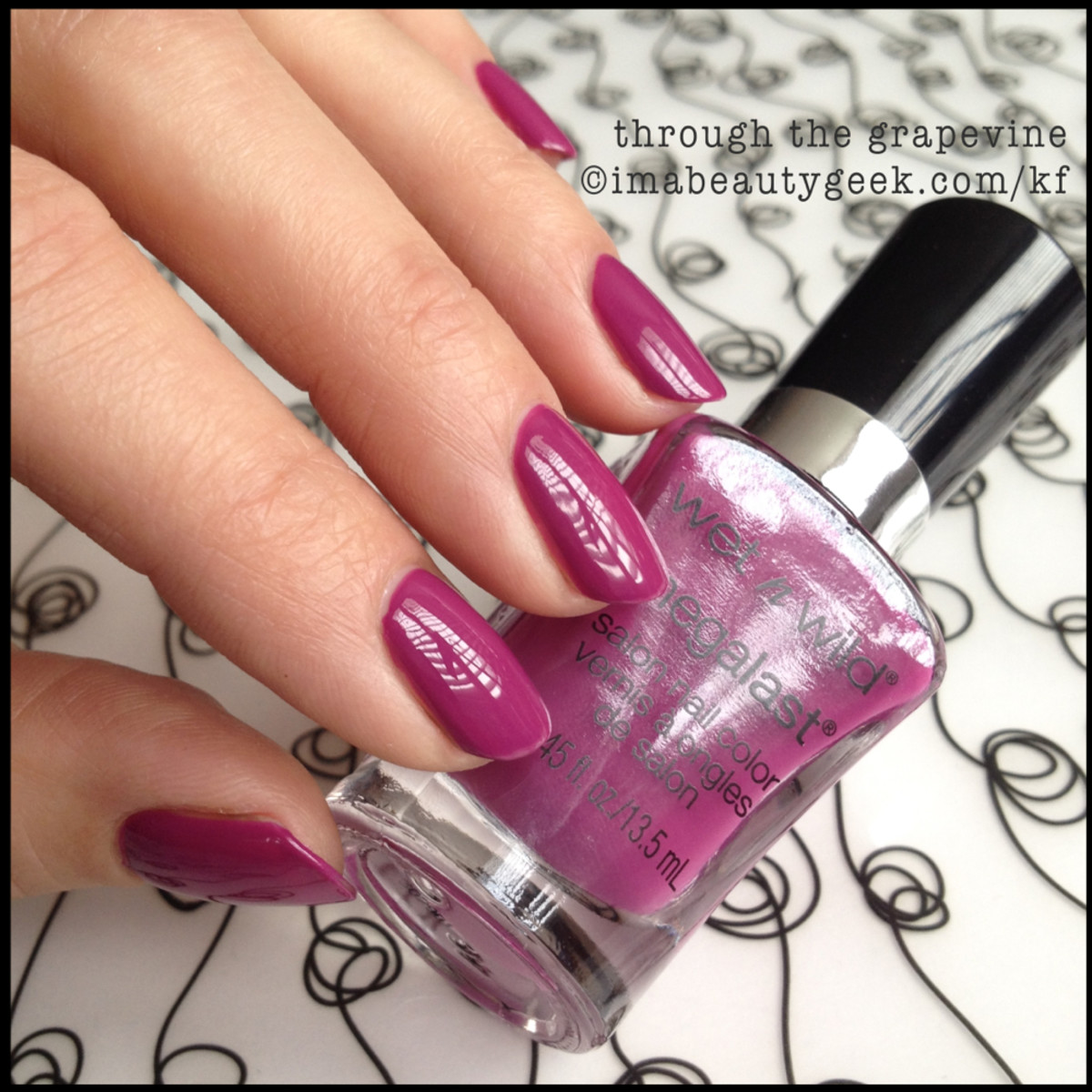 Wet n Wild Polish Through the Grapevine