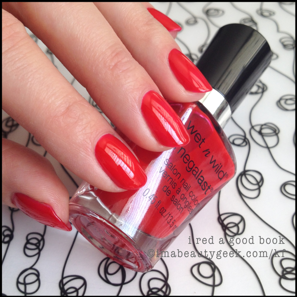 Wet n Wild Polish I Red a Good Book