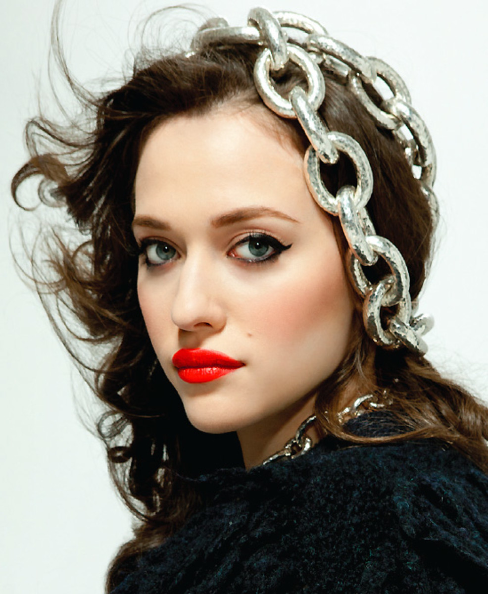 Kat Dennings for Bust_makeup Lauren Anderson
