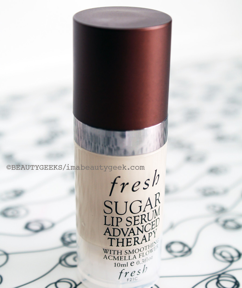 Fresh Sugar Lip Serum Advanced Therapy a must for dry lips