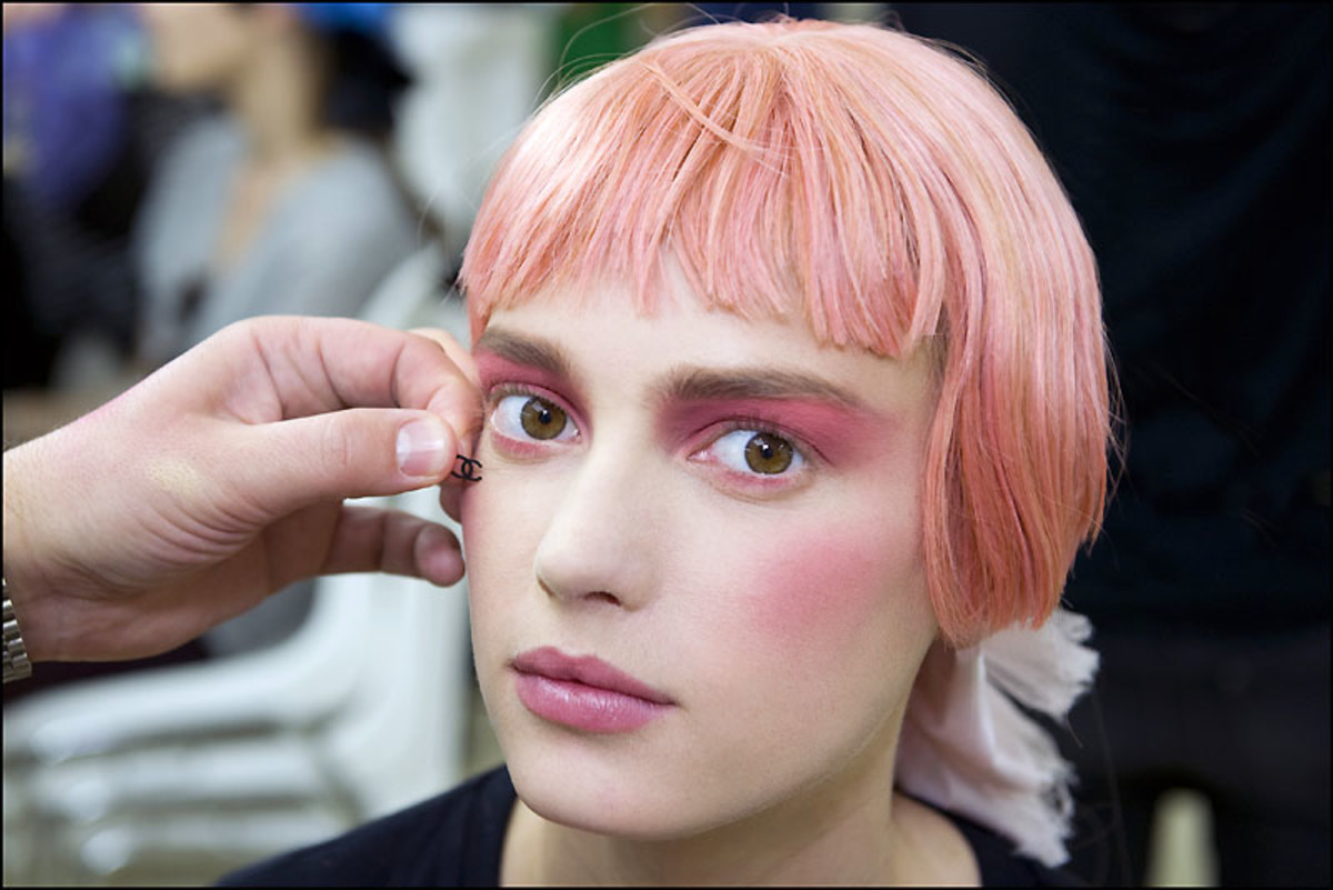 6__Chanel Backstage Beauty Cruise 2013