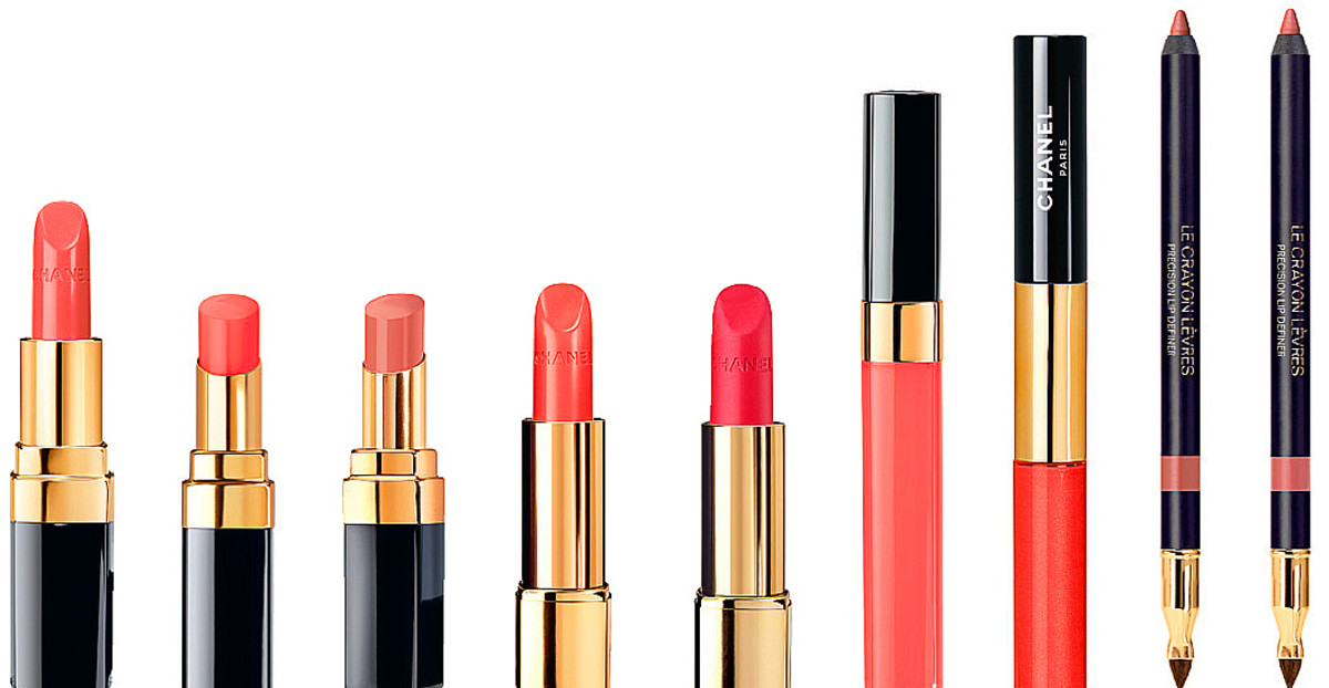 Chanel Le Rouge Collection nude and beige shades for lips