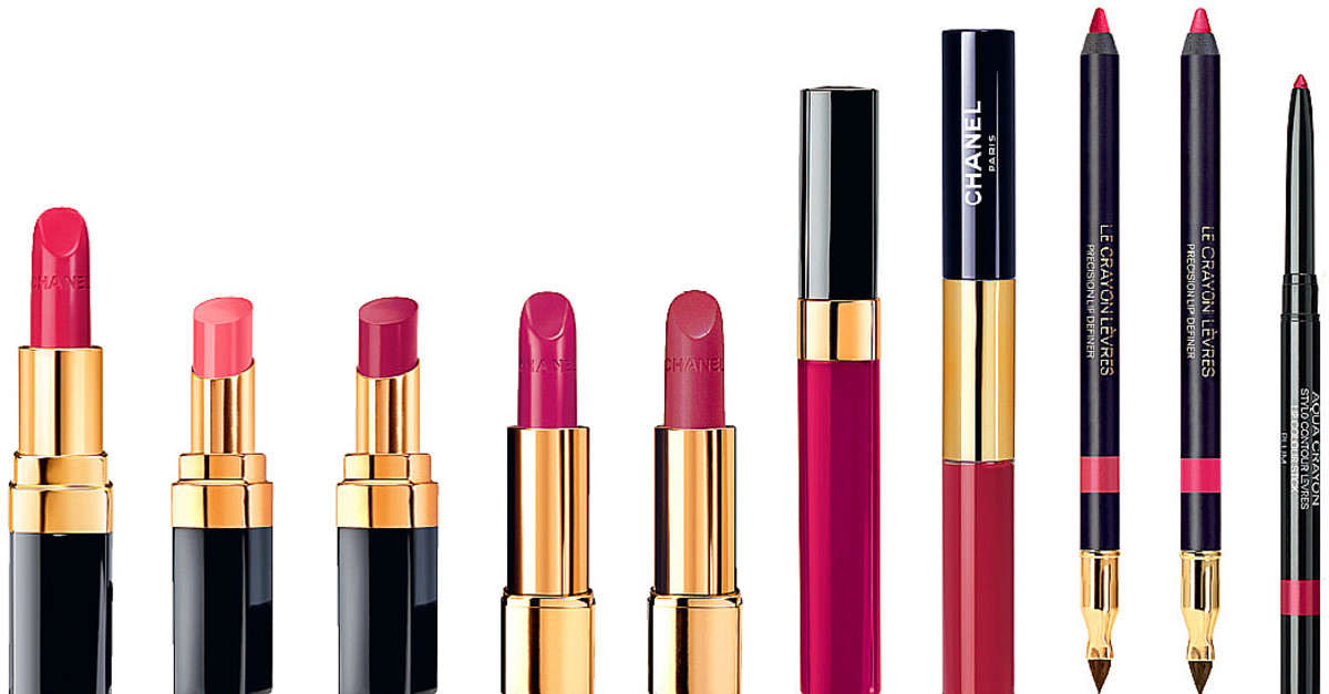 Chanel Le Rouge Collection Spring collection of plum lip shades