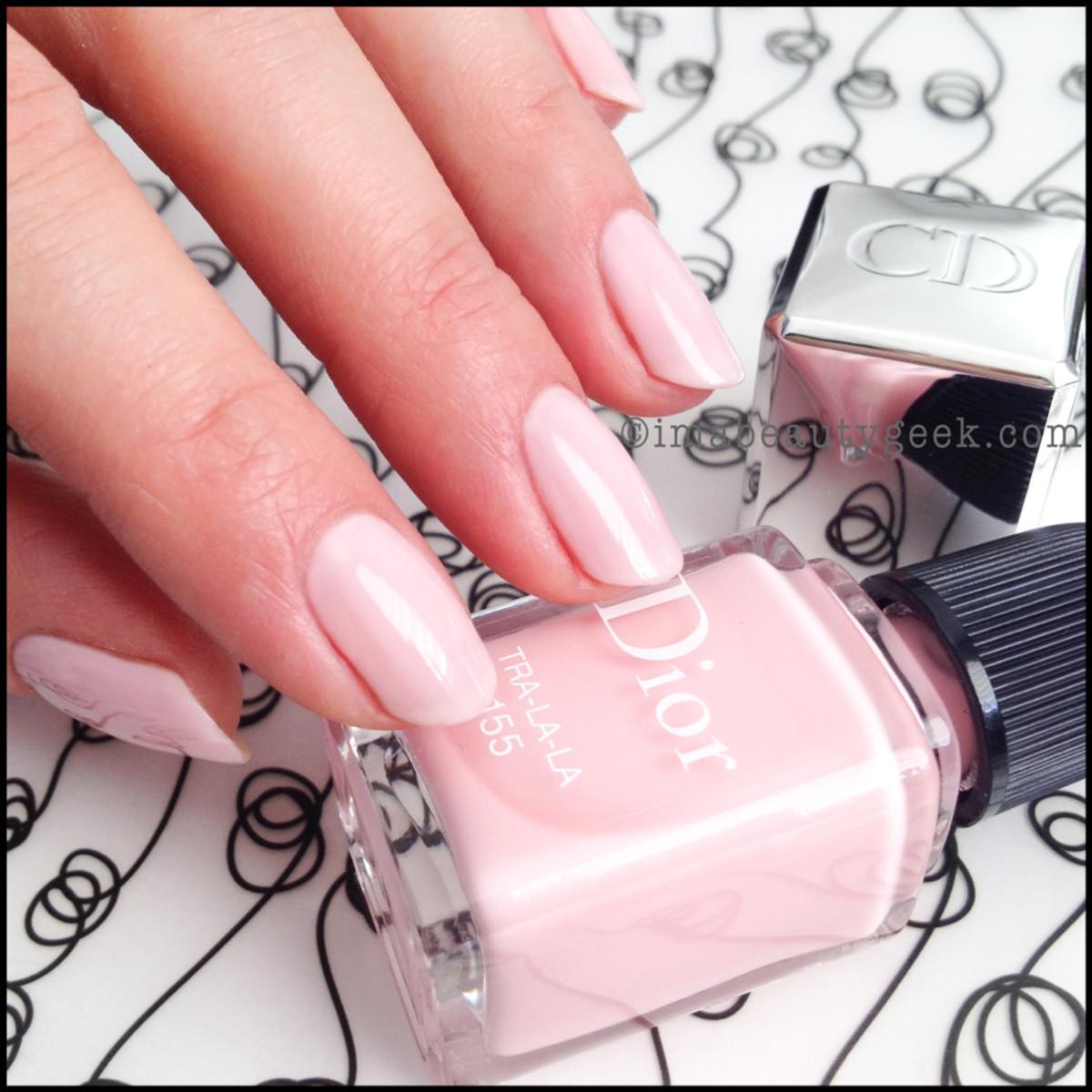 Dior polish Tra-La-La 155 spring 2014_Dior Gel Shine