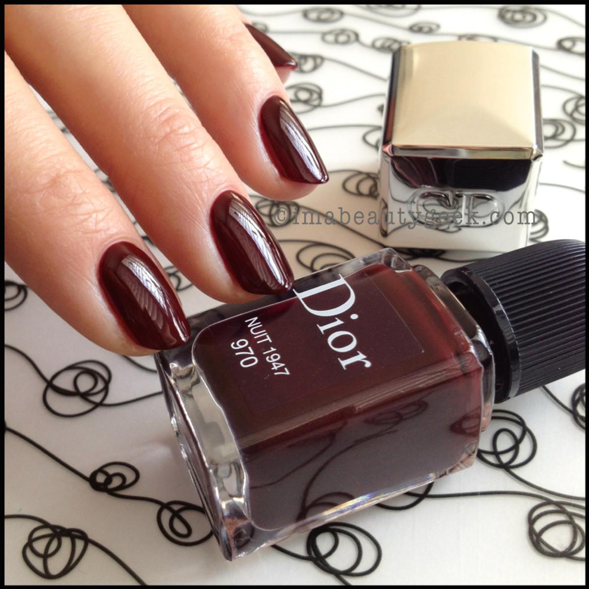 Dior polish Nuit 1947 970_Dior Gel Shine