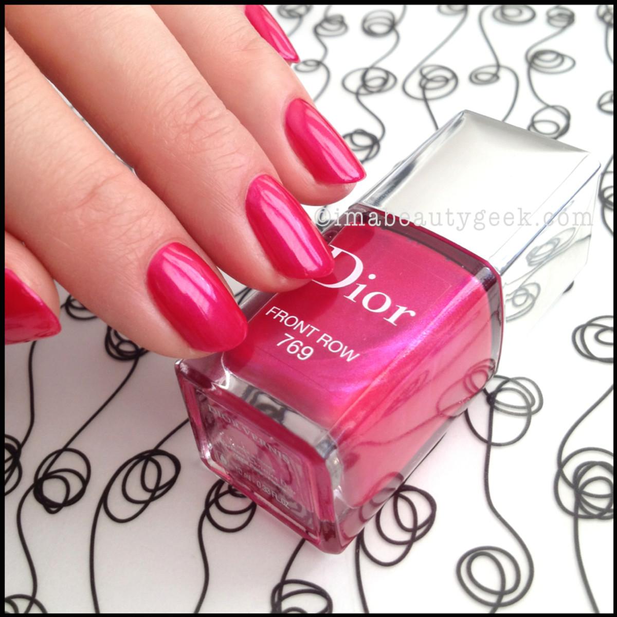 Dior polish Front Row 769_Dior Gel Shine
