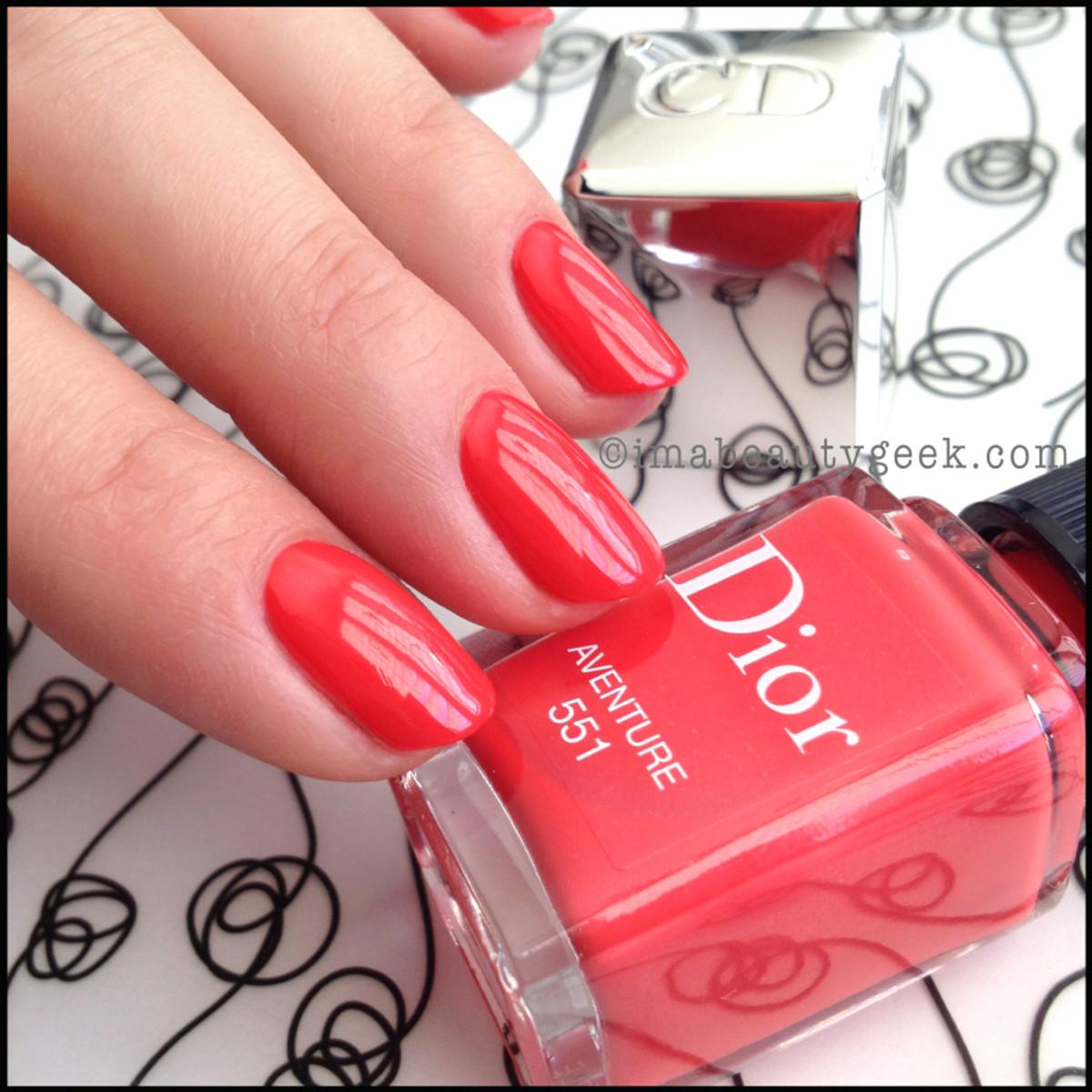 Dior polish Aventure 551_Dior Gel Shine