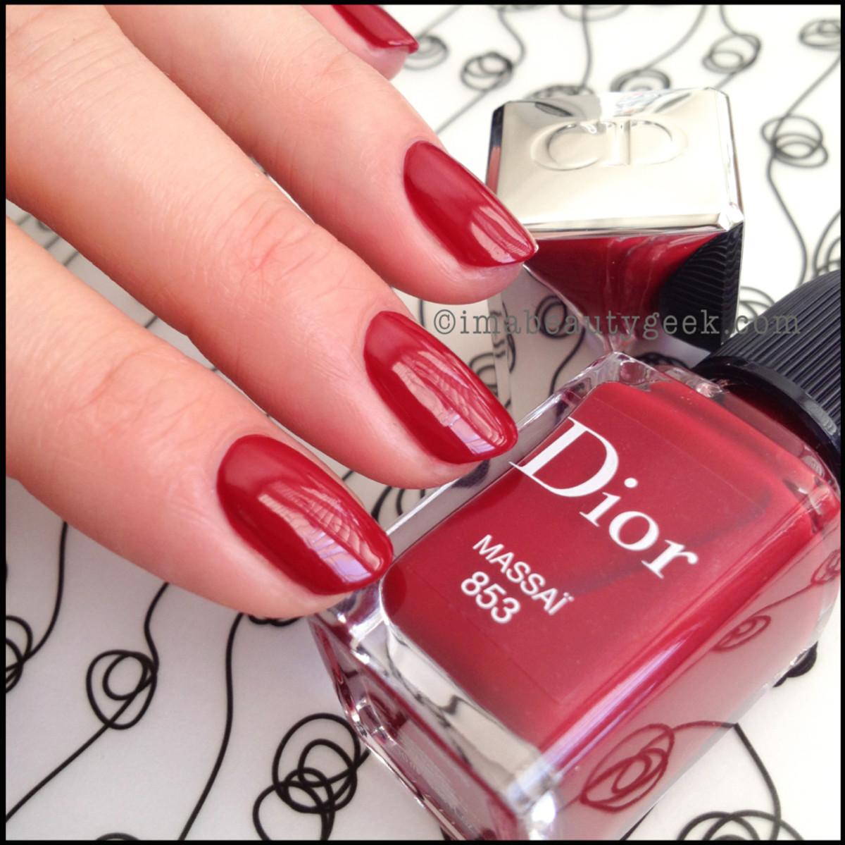 Dior polish Massai 853_Dior Gel Shine