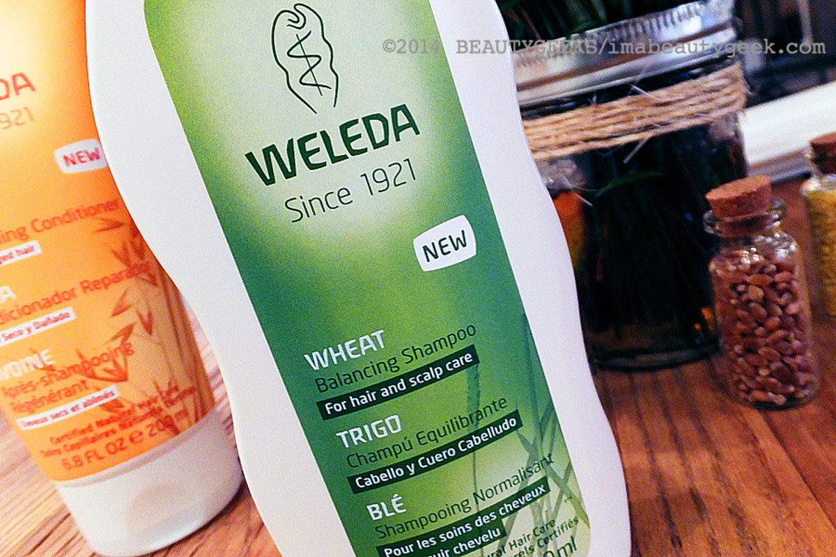 Weleda natural hair care_Weleda Balancing Shampoo