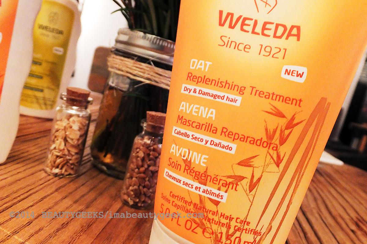 Weleda natural hair care_Weleda Oat Replenishing Treatment