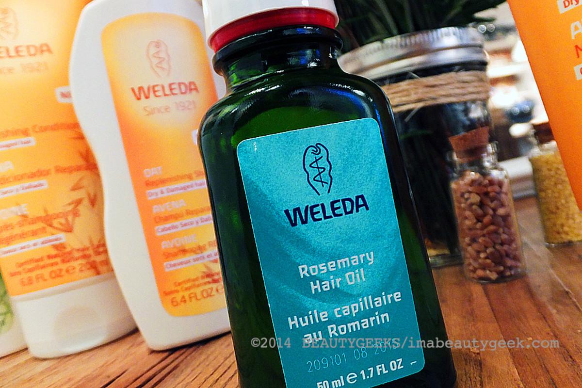 Weleda natural hair care_Weleda Rosemary Hair Oil