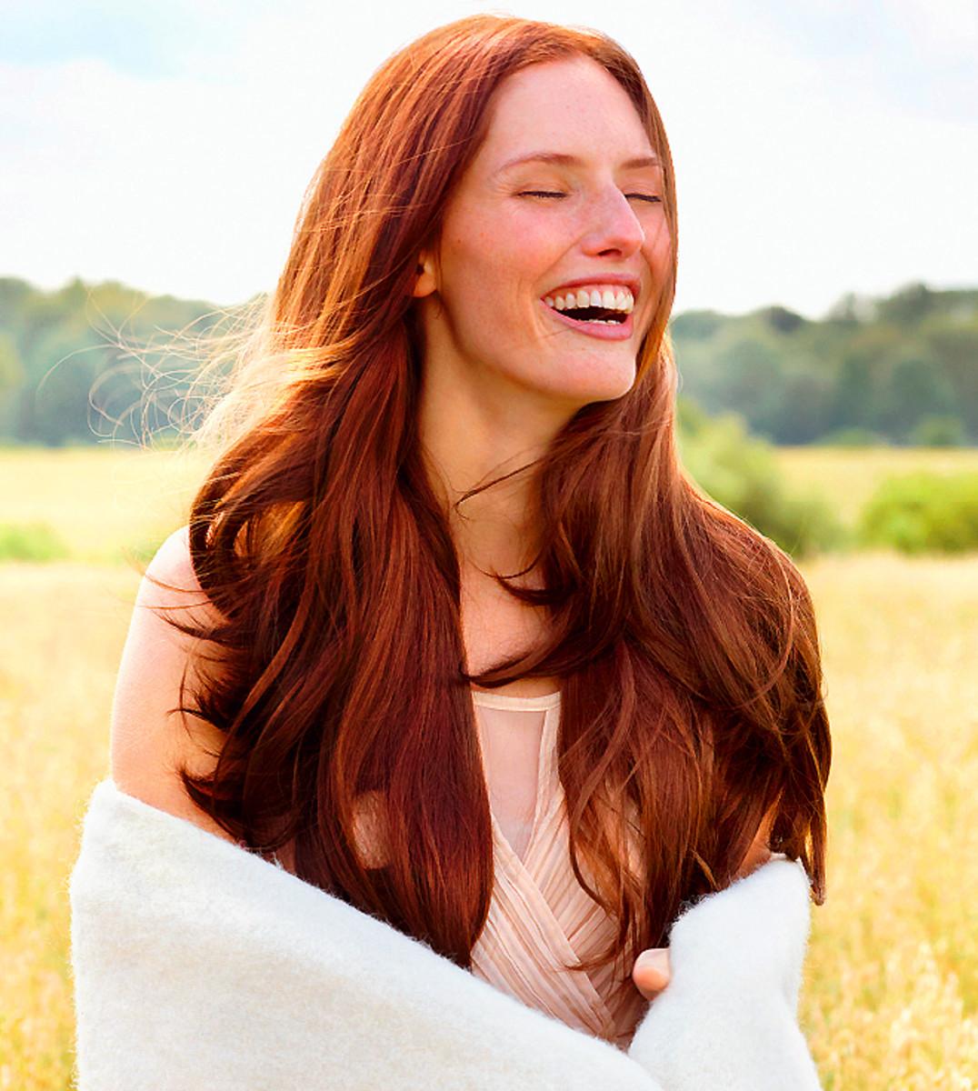 Weleda natural hair care model image 2