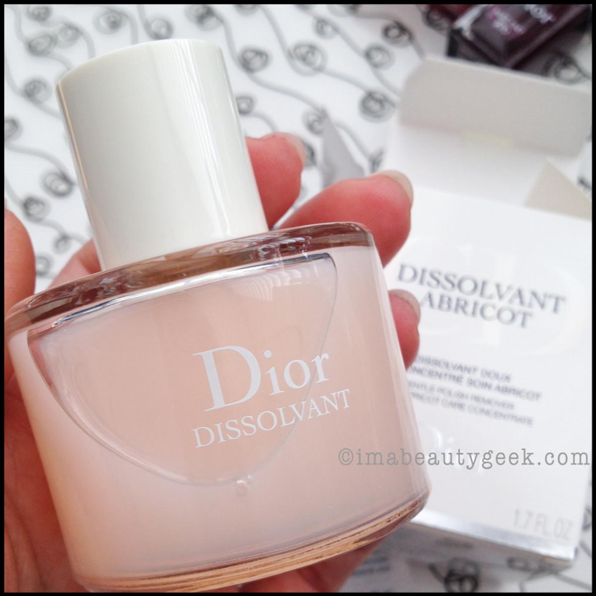 Dior polish remover_Dior Dissolvant