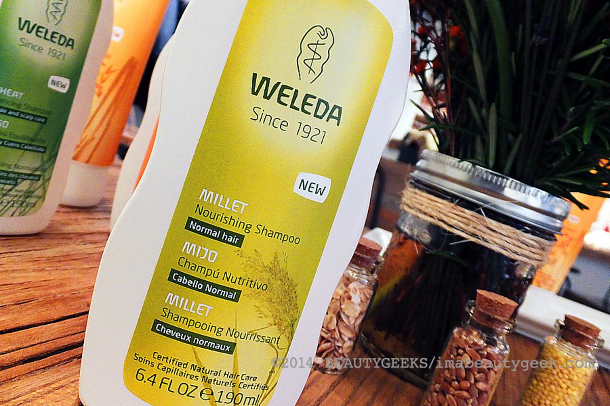 Weleda natural hair care_Weleda Millet Nourishing Shampoo or normal hair