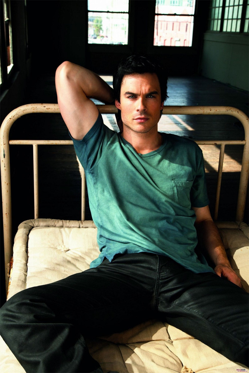 Don't get any Ian Somerhalder + bedframe ideas -- they're mine.