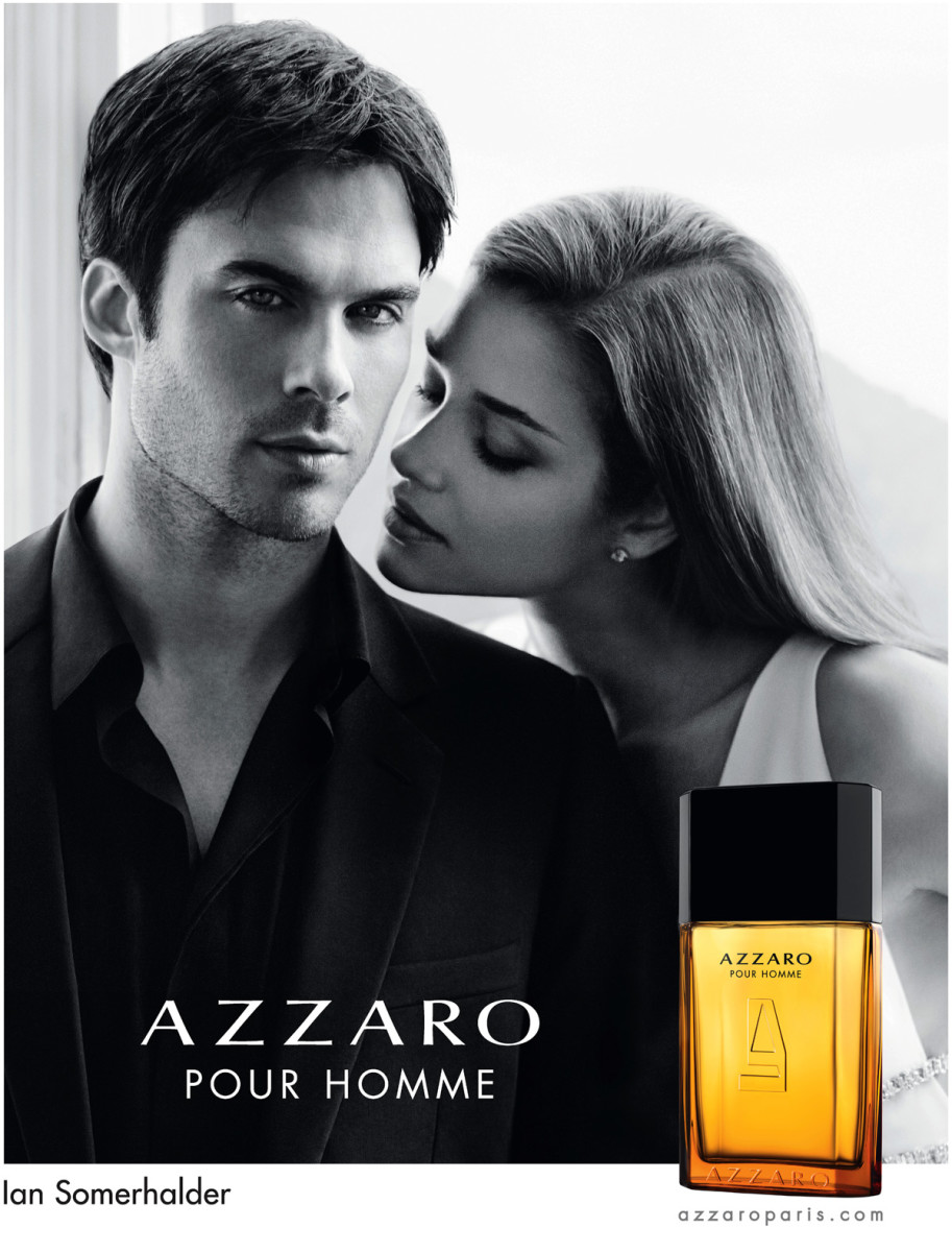 Offical Ian Somerhalder Azzaro Pour Homme ad