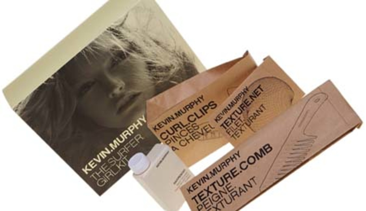 beachy waves_Kevin Murphy The Surfer Girl Kit