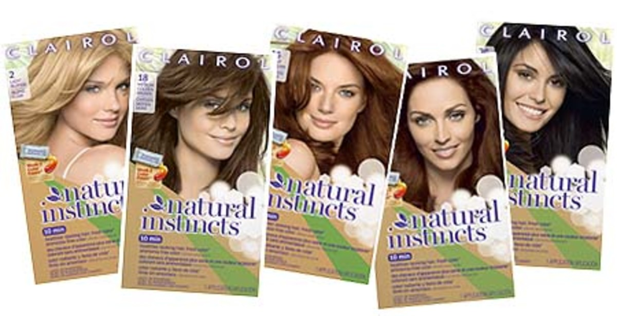 Hue Extensions How Clairol Natural Instincts Week 2 Color Refresher