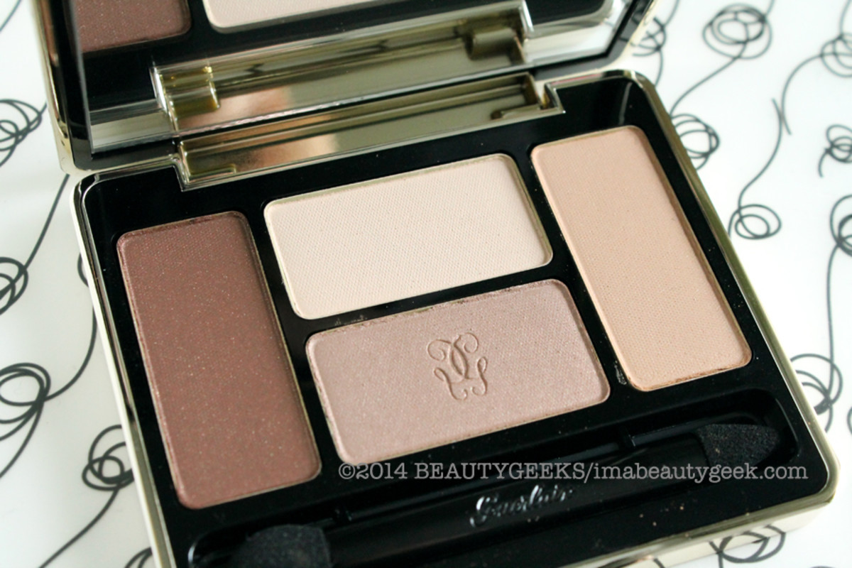 Guerlain Les Cuirs eye shadow palette -- a pricier multi-tasking wonder