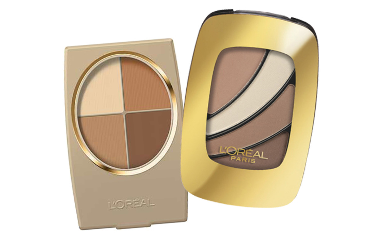 Multi purpose neutral eyeshadow_L'Oreal Paris Wear Infinite Earthscape_L'Oreal Paris Color Riche Cupa Joe