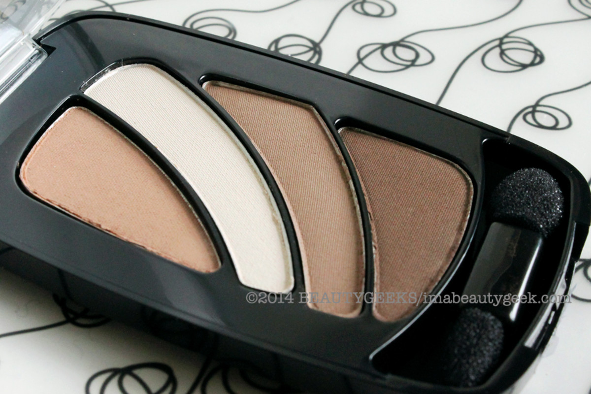 Multi purpose neutral eyeshadow_L'Oreal Paris Color Riche Cupa Joe_eyeshadow quad