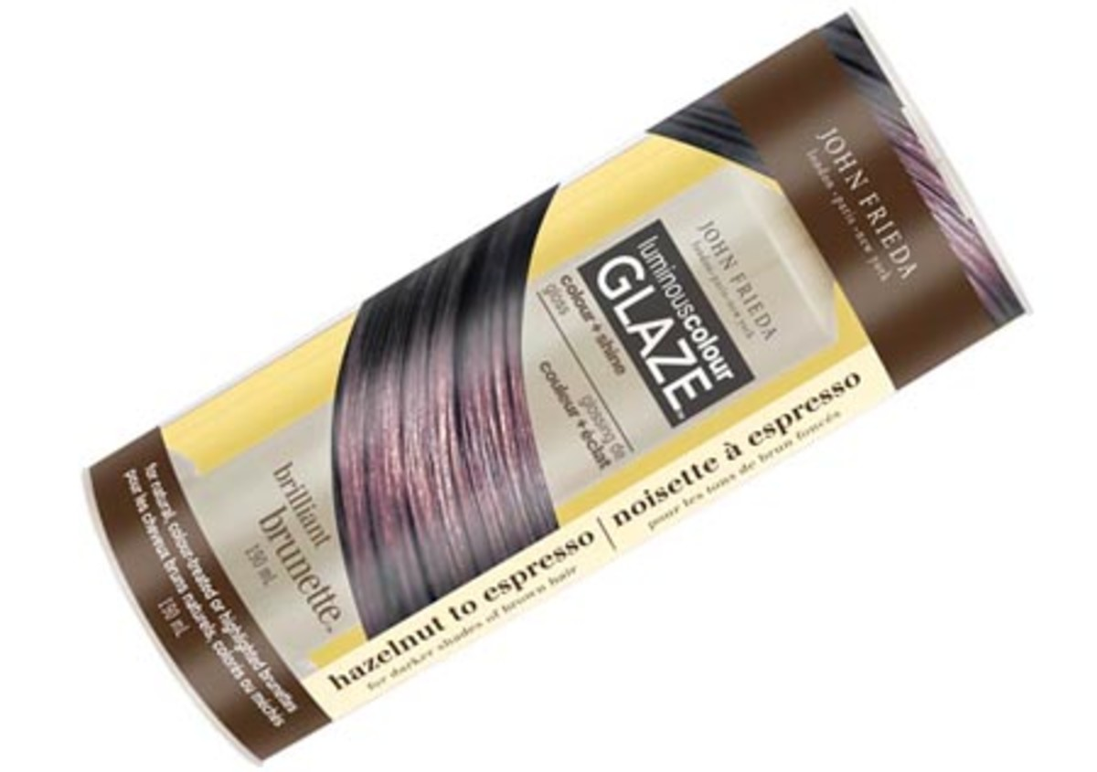 John Frieda Brilliant Brunette Luminous Colour Glaze_Brilliant Brunette