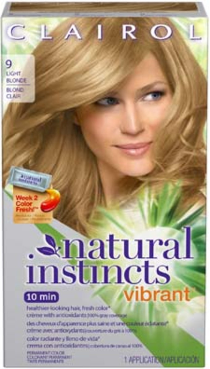 Clairol Natural Instincts Vibrant - Light Blonde