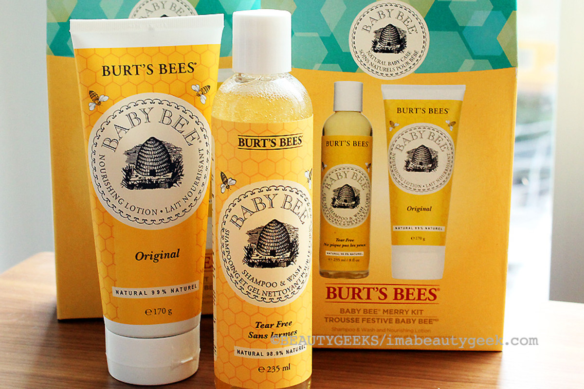 burt's bees holiday 2014_Burt's Bees Baby Bee Merry Kit_shampoo and lotion